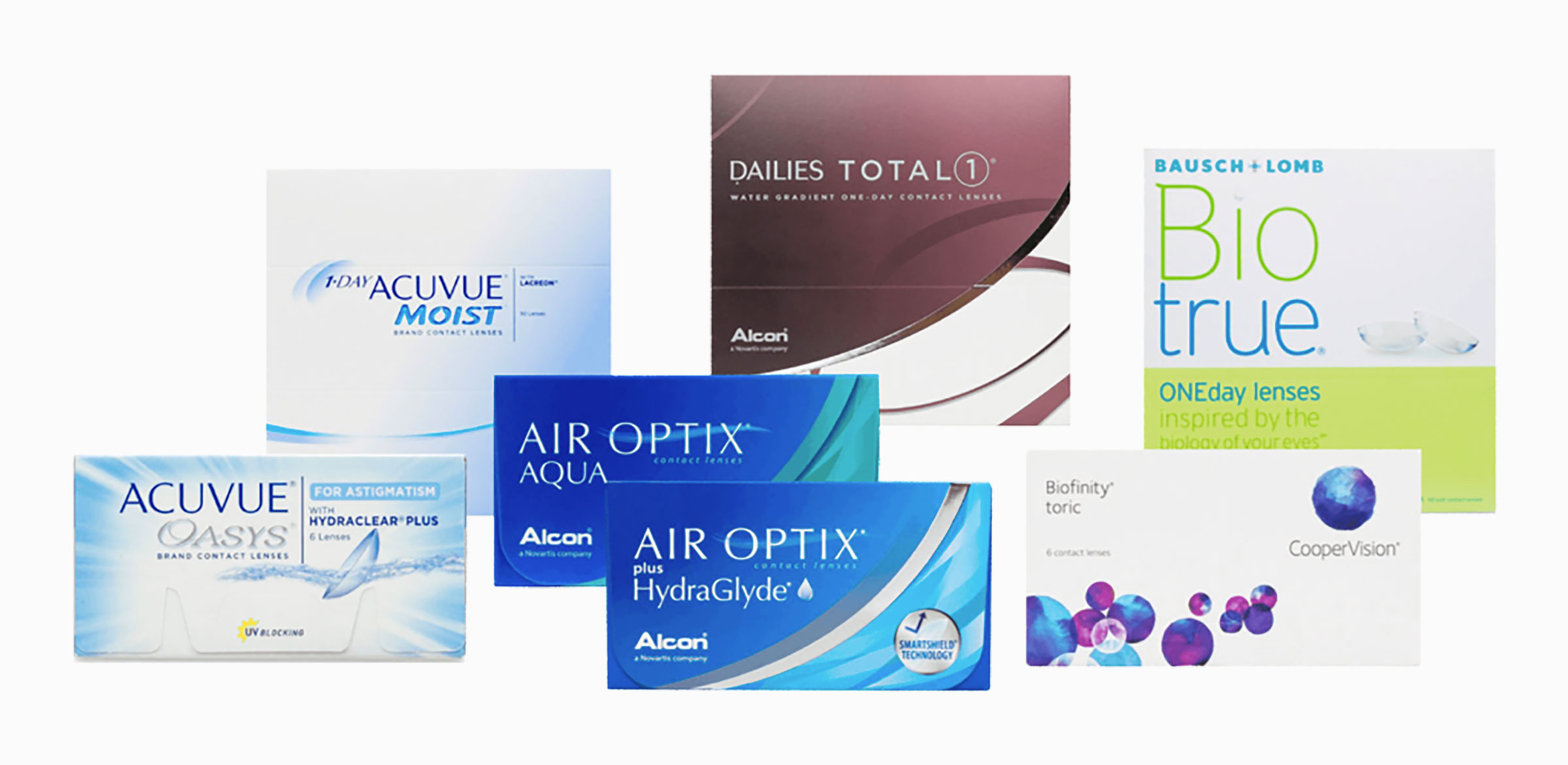 Different Brands of Contact Lenses